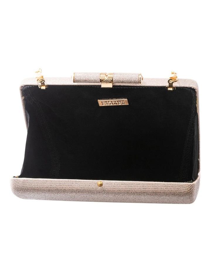 Stripe Hardcase Clutch Bag image 5