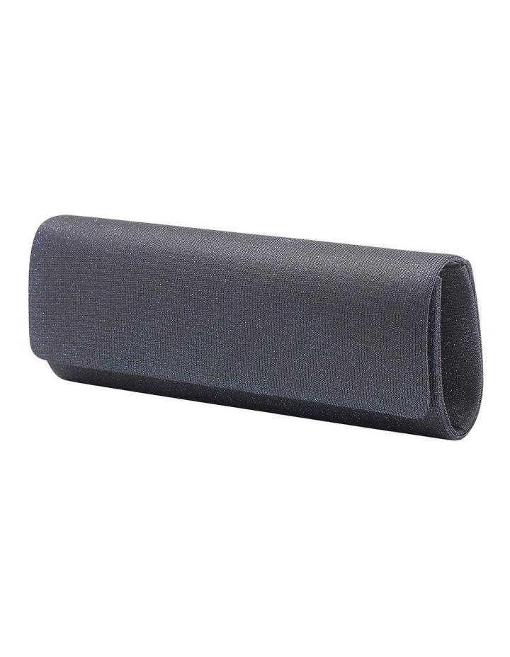 Lurex Flap Over Clutch Bag image 2