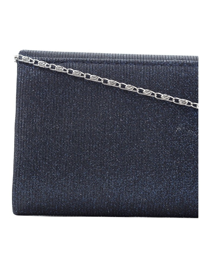 Lurex Flap Over Clutch Bag image 3