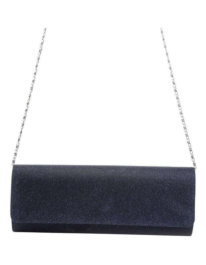 Lurex Flap Over Clutch Bag image 4