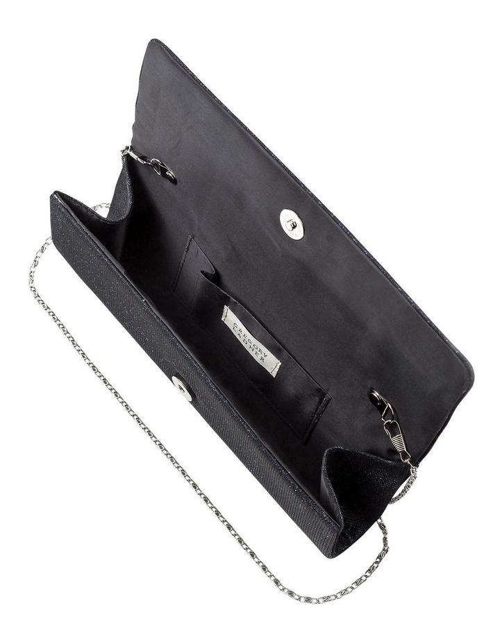 Lurex Flap Over Clutch Bag image 5