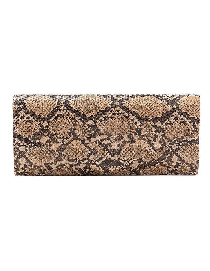 Snake Hardcase Clutch Bag image 1