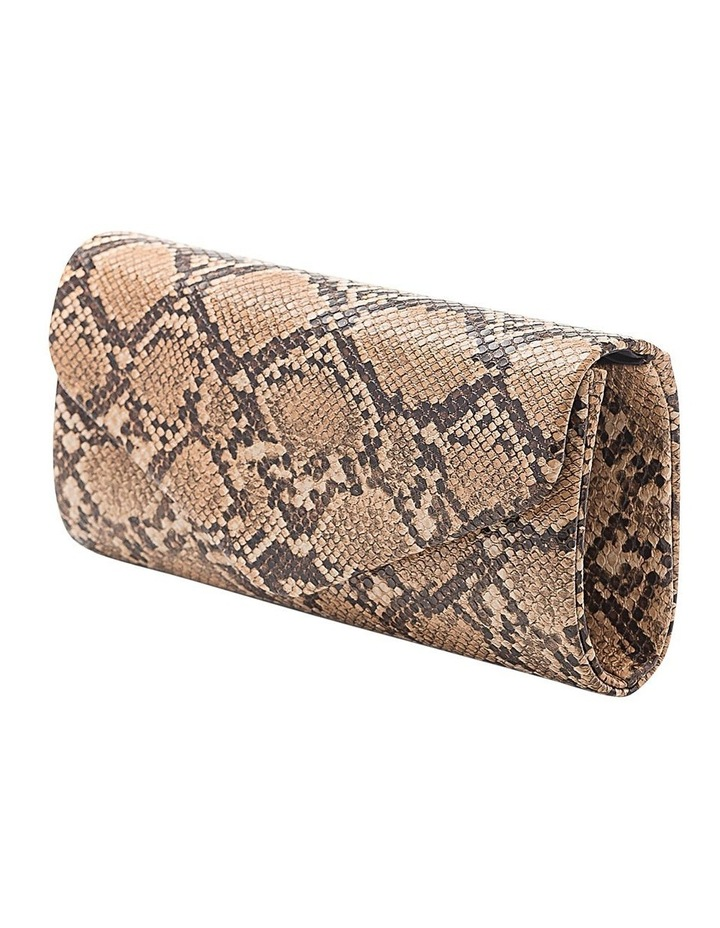 Snake Hardcase Clutch Bag image 2