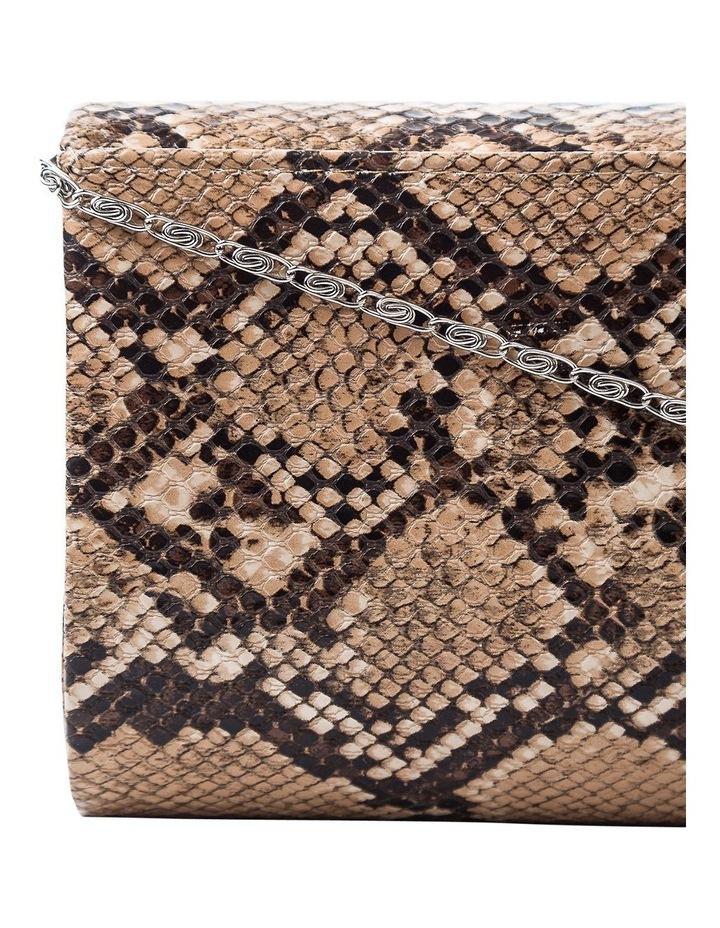 Snake Hardcase Clutch Bag image 3