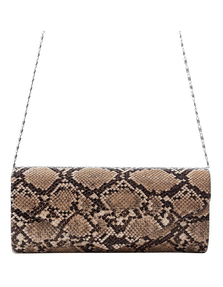 Snake Hardcase Clutch Bag image 4