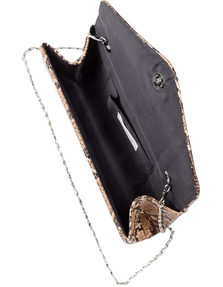 Snake Hardcase Clutch Bag image 5