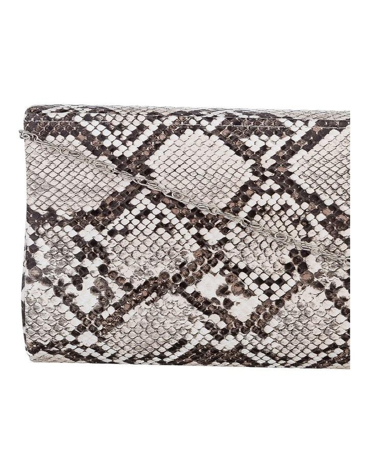 GBGP010M Snake Hardcase Clutch Bag image 3