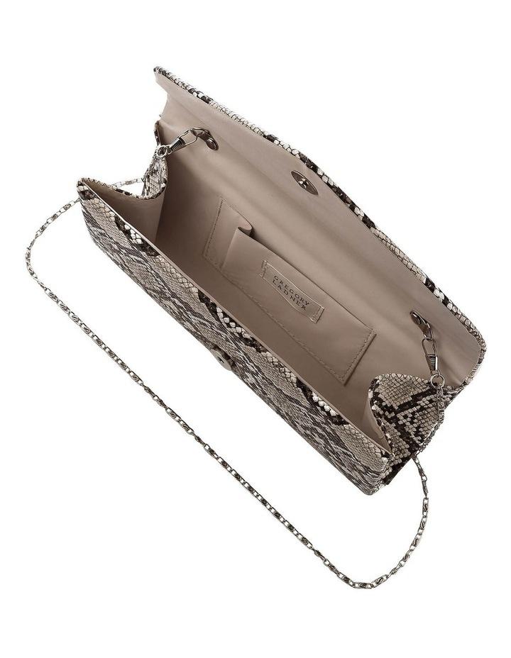 GBGP010M Snake Hardcase Clutch Bag image 5