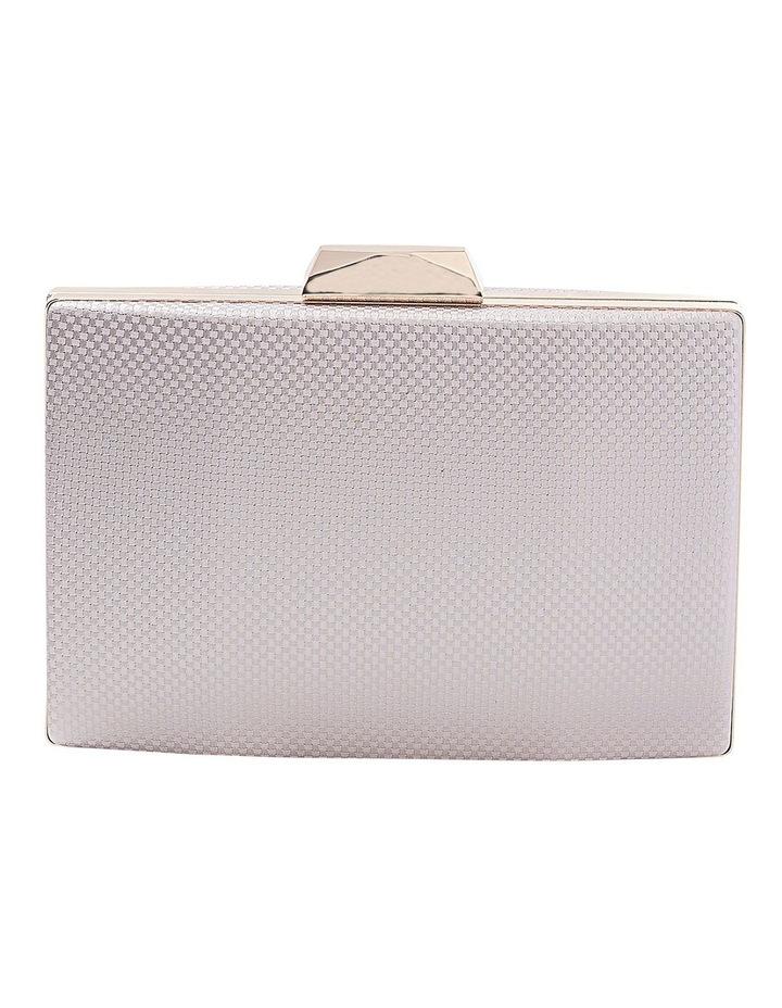 Textured Hardcase Clutch Bag image 1