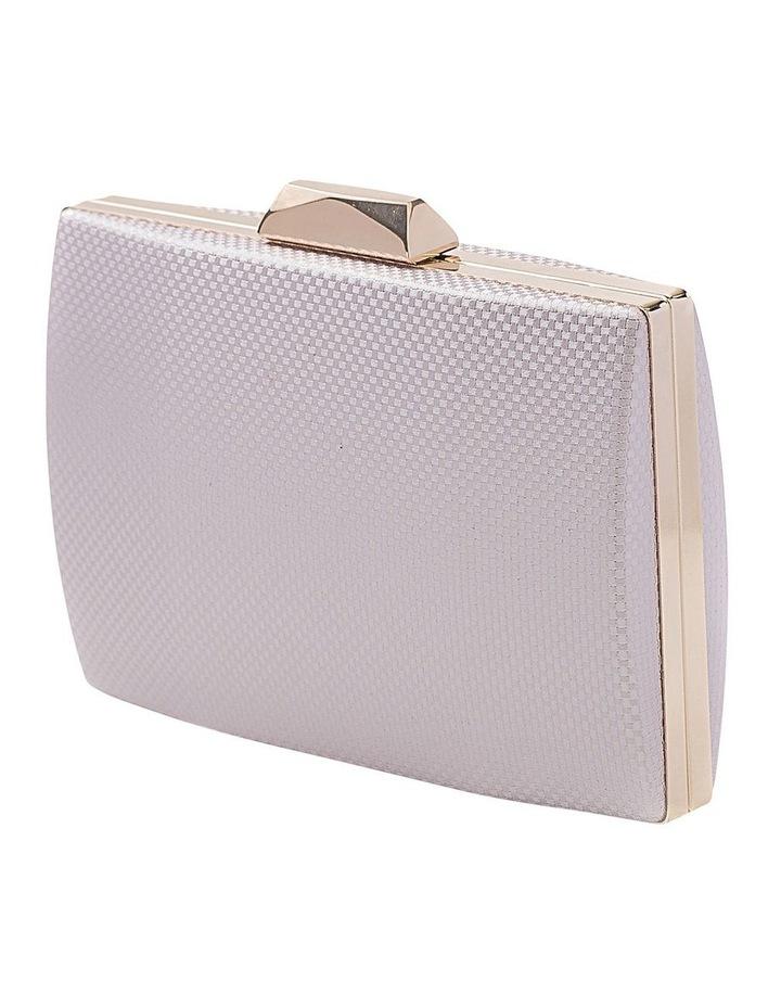 Textured Hardcase Clutch Bag image 2