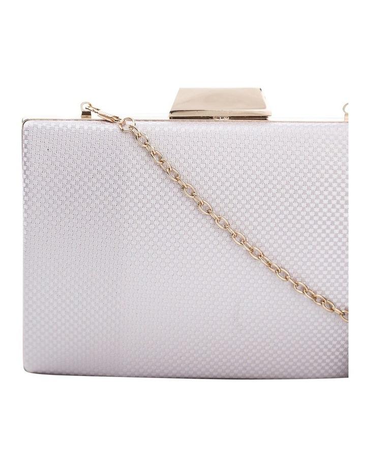 Textured Hardcase Clutch Bag image 3