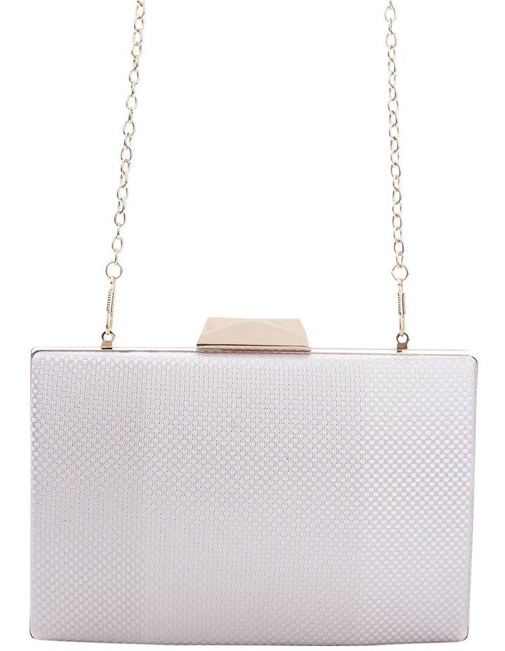 Textured Hardcase Clutch Bag image 4