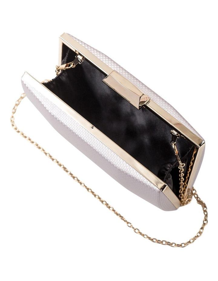 Textured Hardcase Clutch Bag image 5