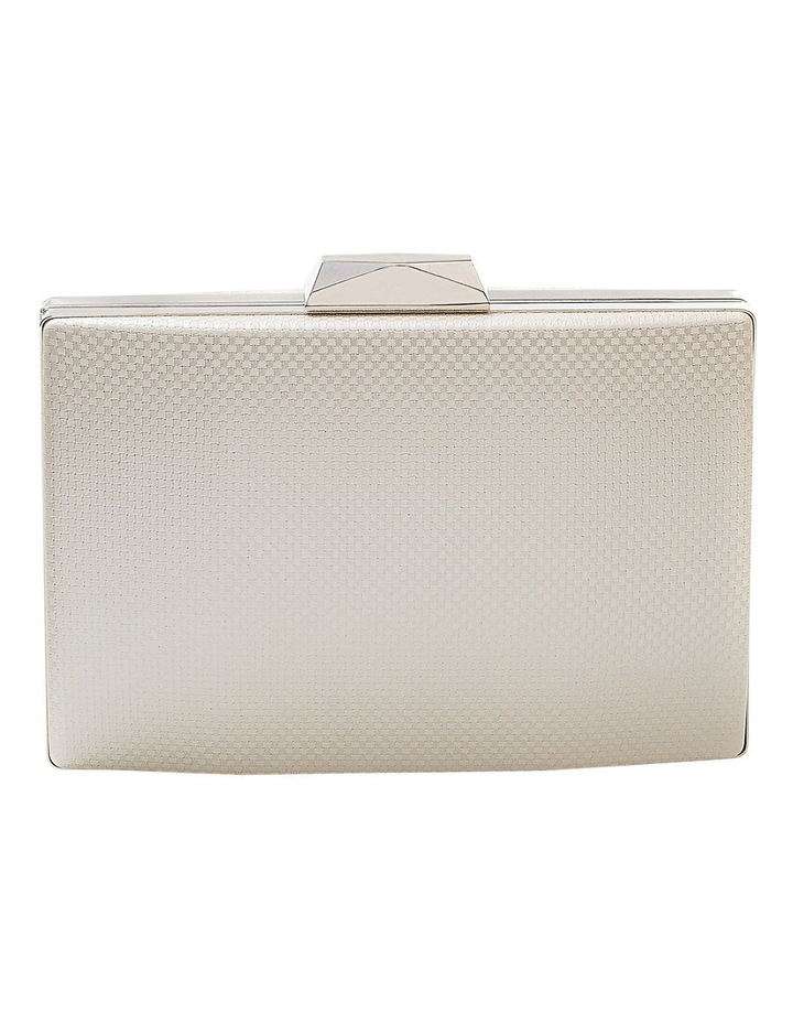 Textured Hardcase Clutch Bag image 1