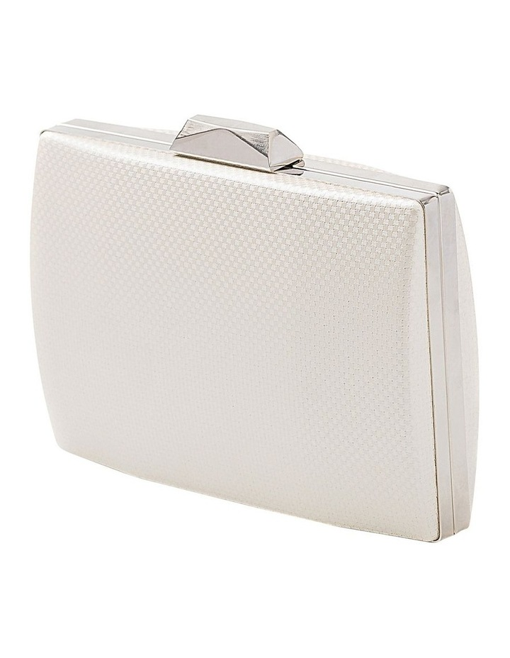 Textured Hardcase Clutch Bag image 2