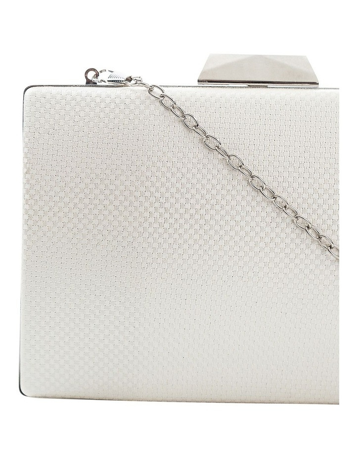 Textured Hardcase Clutch Bag image 3