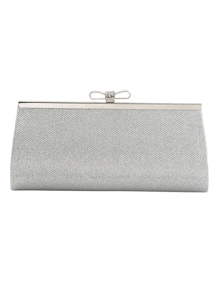 Bow Clasp Hardcase Clutch Bag image 1
