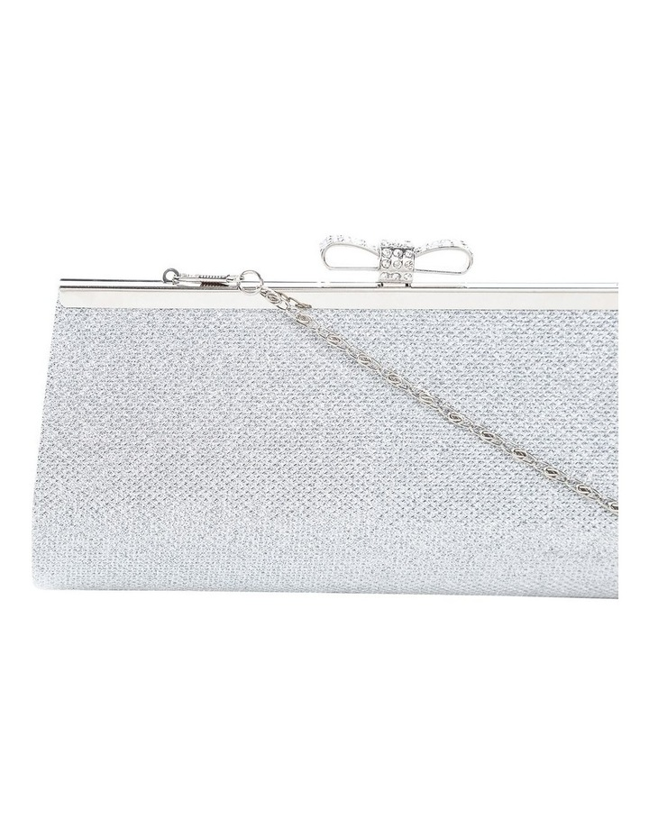 Bow Clasp Hardcase Clutch Bag image 3