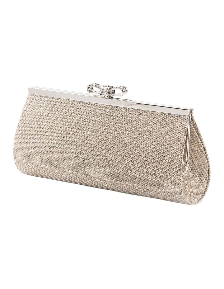 Bow Clasp Hardcase Clutch Bag image 2