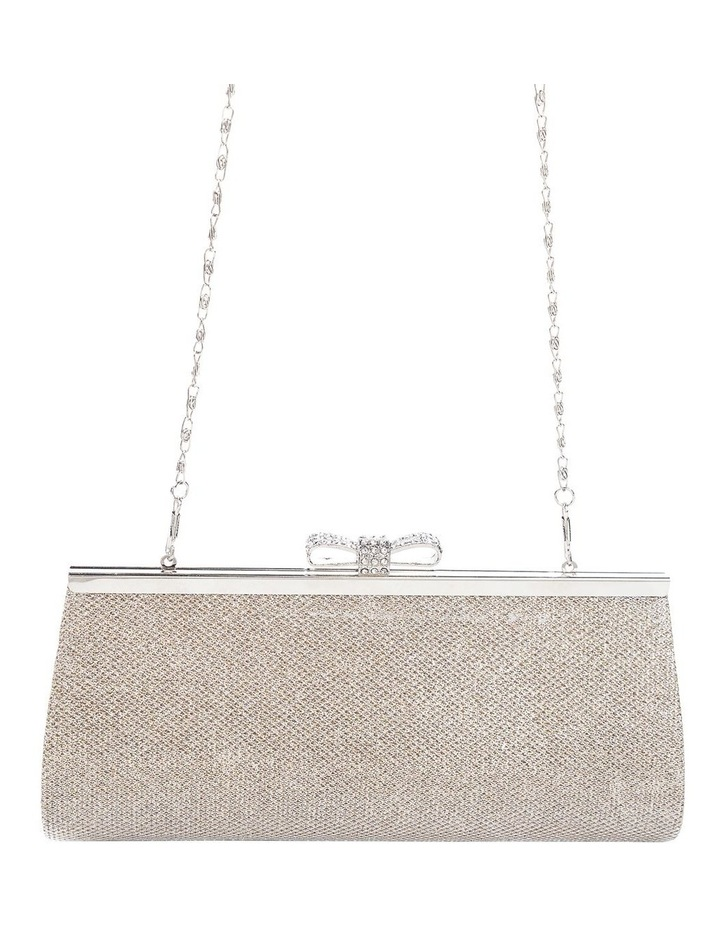 Bow Clasp Hardcase Clutch Bag image 4