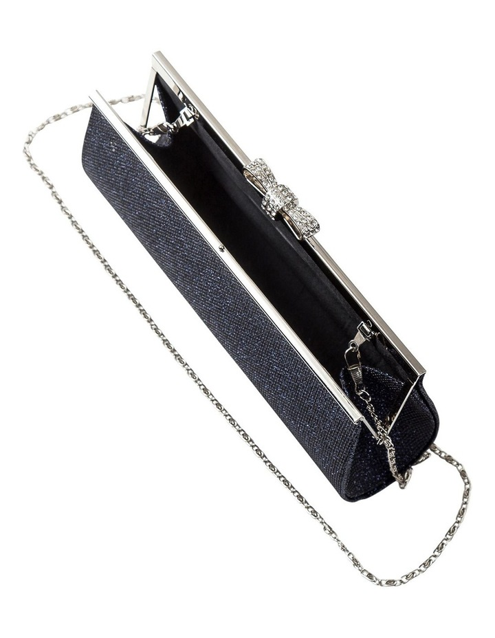 Bow Clasp Hardcase Clutch Bag image 5