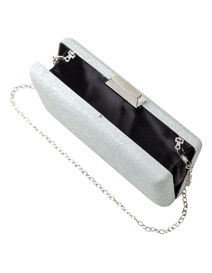 GBGP018M Metallic Hardcase Clutch Bag image 5