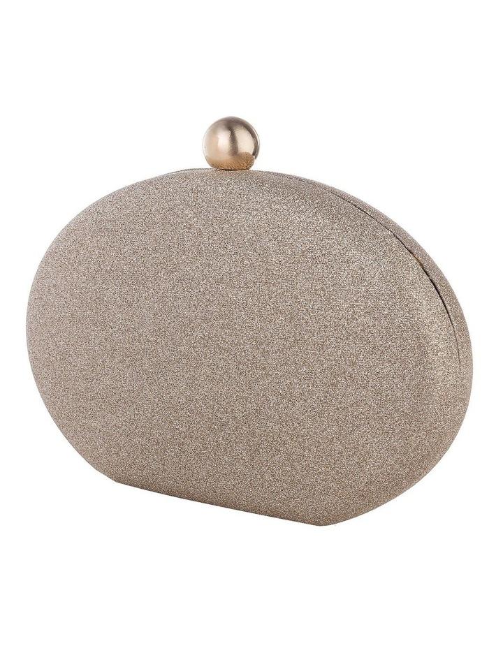 GBGP029M Glitter Egg Hardcase Clutch Bag image 2