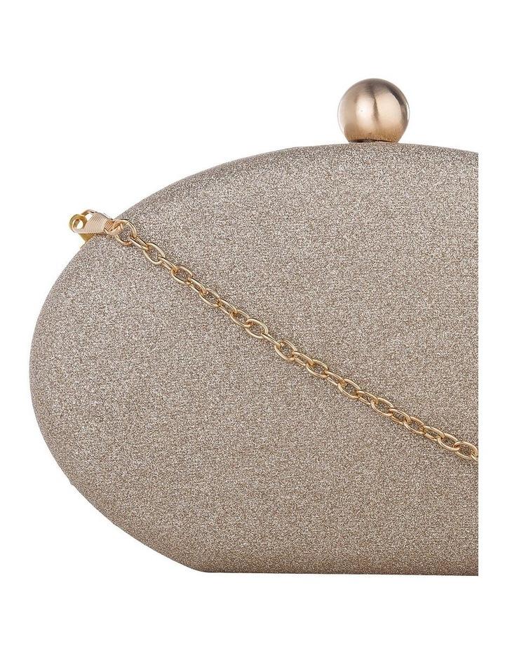 GBGP029M Glitter Egg Hardcase Clutch Bag image 3