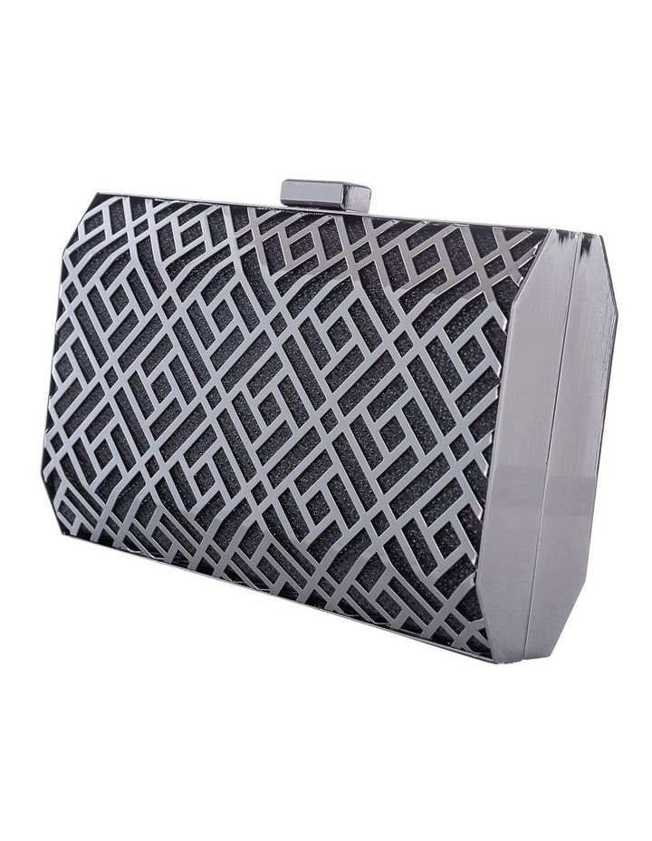 GBGP039M Lattice Hardcase Clutch Bag image 2