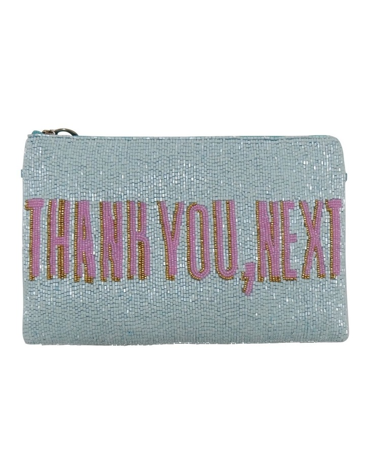 FSX202W041 Thank You Zip Top Pouch image 1