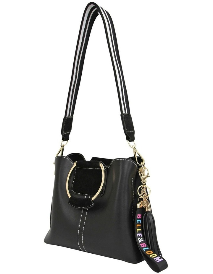 TWI100BLK Twilight Black Zip Top Crossbody Bag image 2