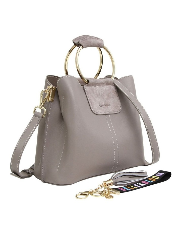 TWI200GRY Twilight Grey Zip Top Crossbody Bag image 5