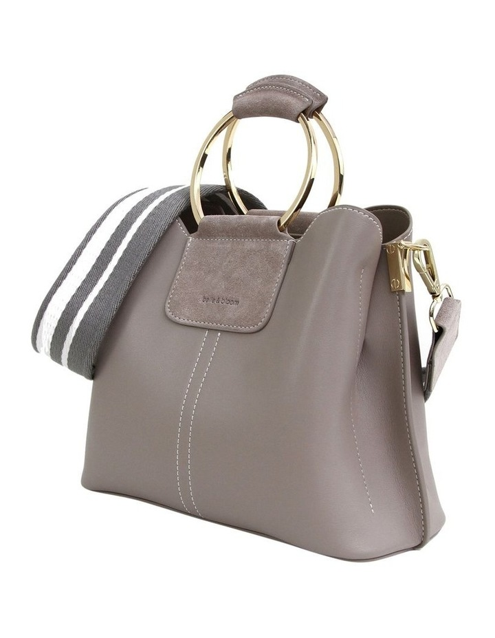 TWI200GRY Twilight Grey Zip Top Crossbody Bag image 6
