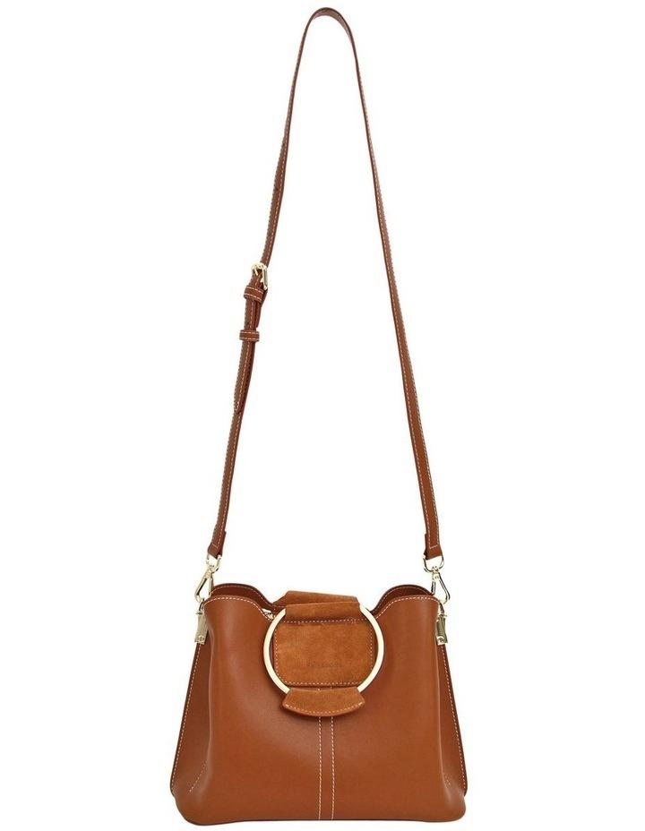 TWI300BWN Twilight Brown Zip Top Crossbody Bag image 3