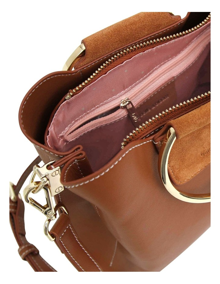 TWI300BWN Twilight Brown Zip Top Crossbody Bag image 4