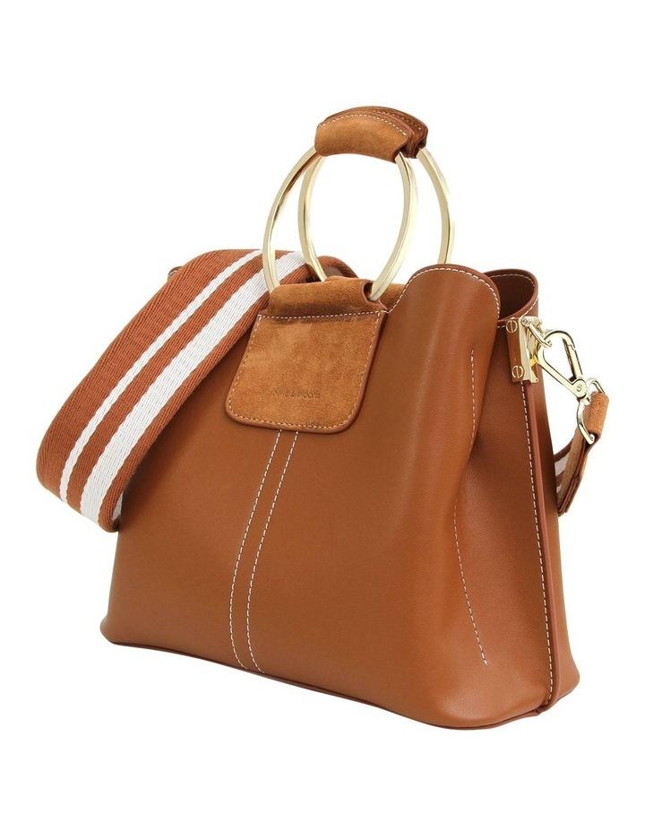 TWI300BWN Twilight Brown Zip Top Crossbody Bag image 6