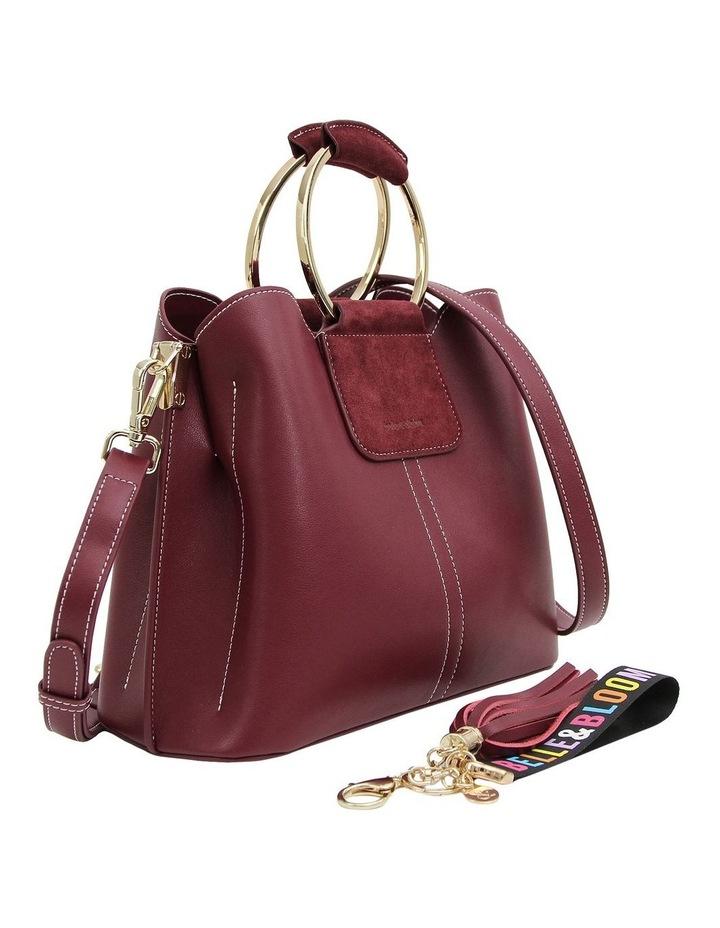 TWI700WINE Twilight Wine Zip Top Crossbody Bag image 6
