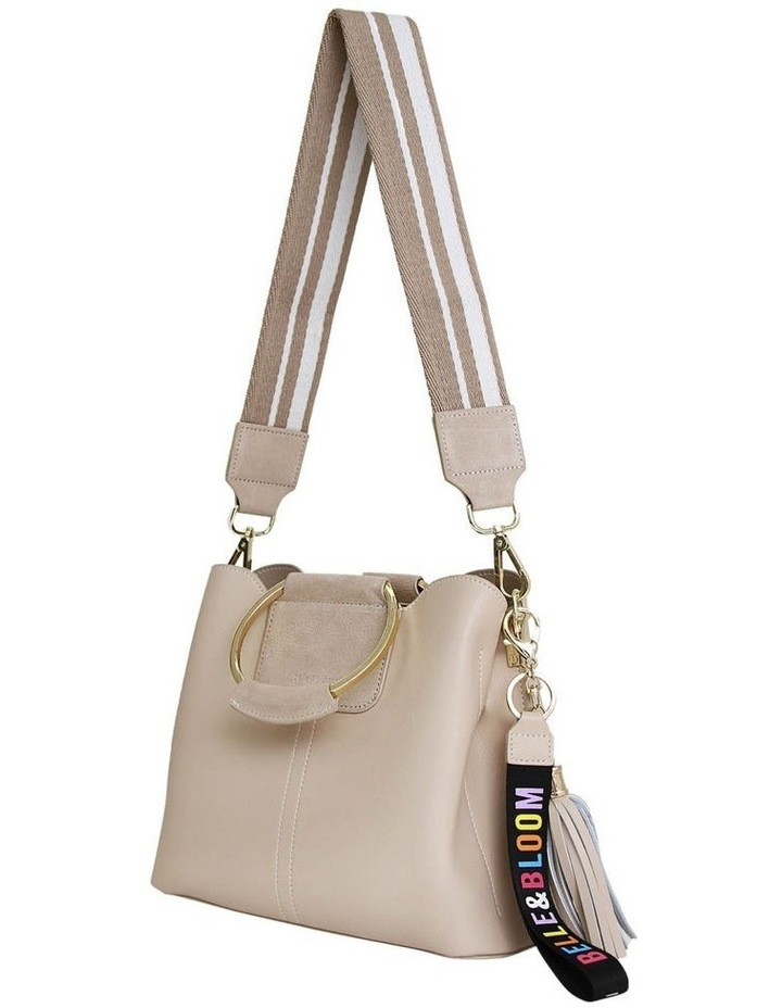 Twilight Latte Zip Top Crossbody Bag TWIX00LAT image 4