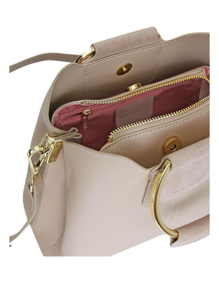 Twilight Latte Zip Top Crossbody Bag TWIX00LAT image 6