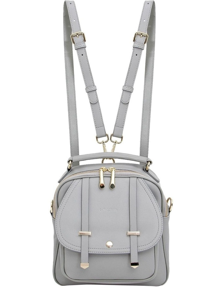 Camila Grey Flap Over Back Pack CAM200GRY image 2