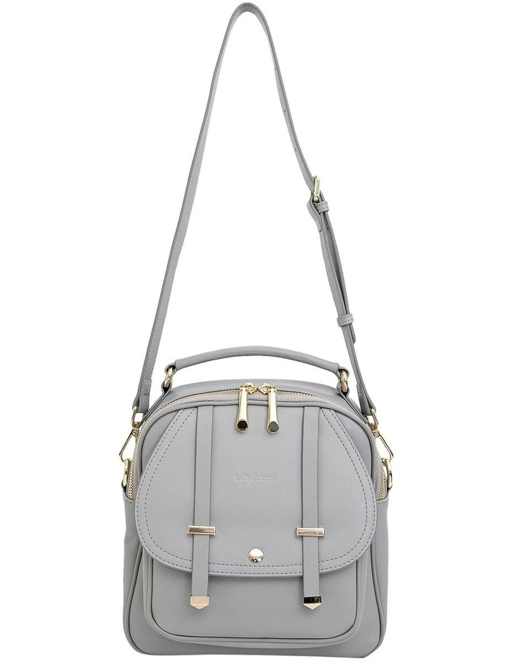 Camila Grey Flap Over Back Pack CAM200GRY image 3
