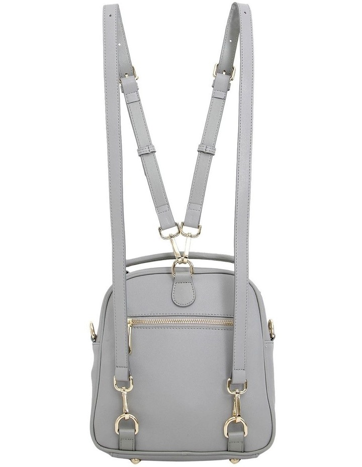 Camila Grey Flap Over Back Pack CAM200GRY image 4