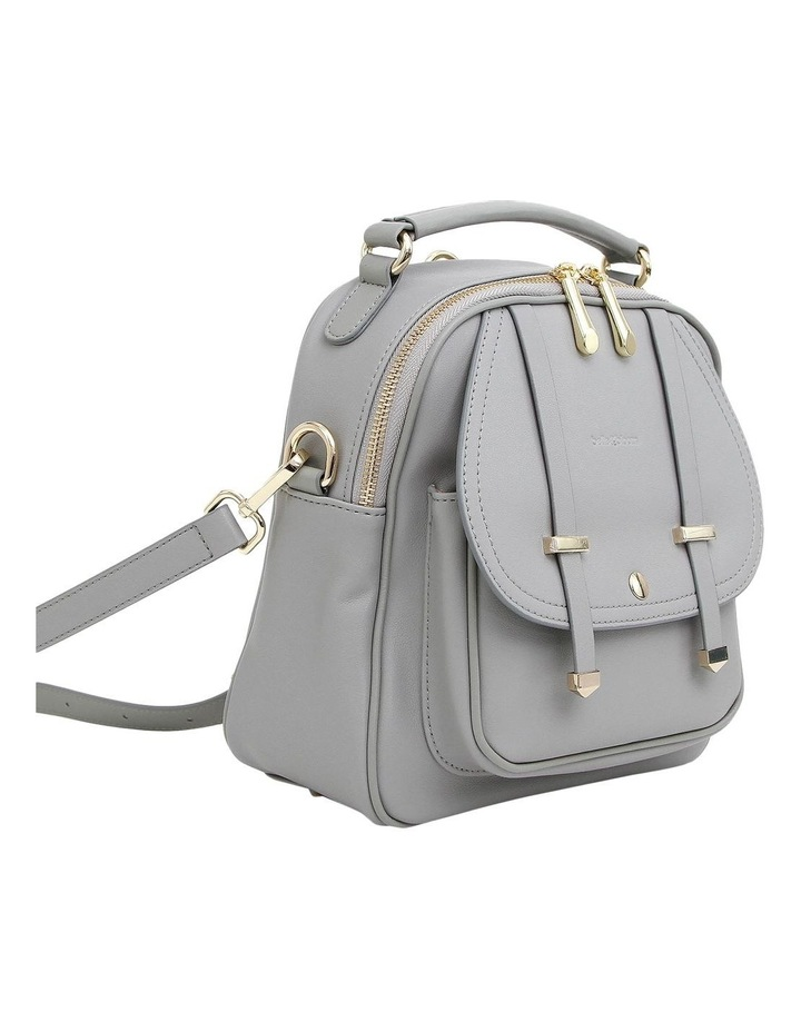 Camila Grey Flap Over Back Pack CAM200GRY image 5