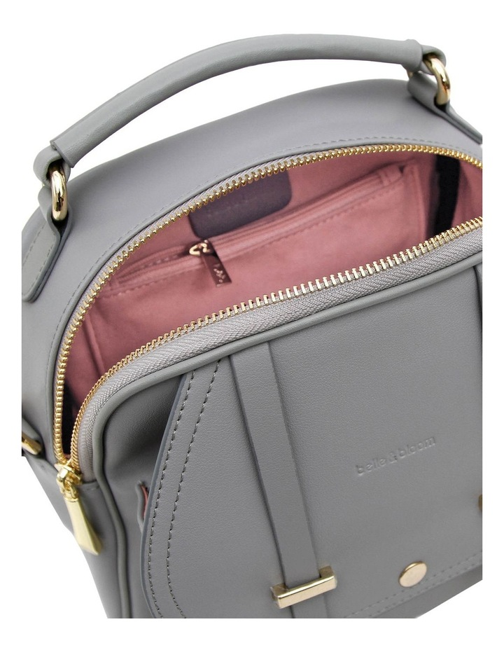 Camila Grey Flap Over Back Pack CAM200GRY image 6