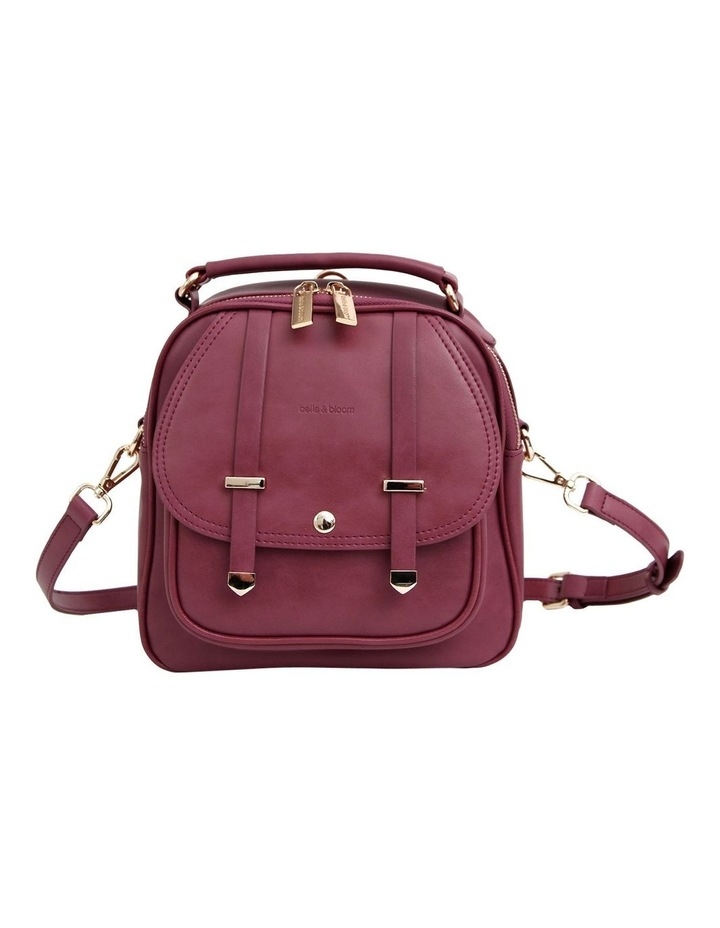 Purple Camila Flap Over Back Pack CAM500PUR image 1