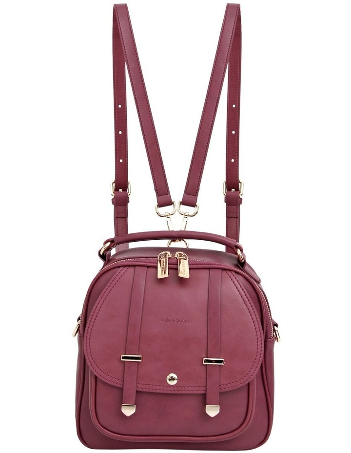 Purple Camila Flap Over Back Pack CAM500PUR image 2