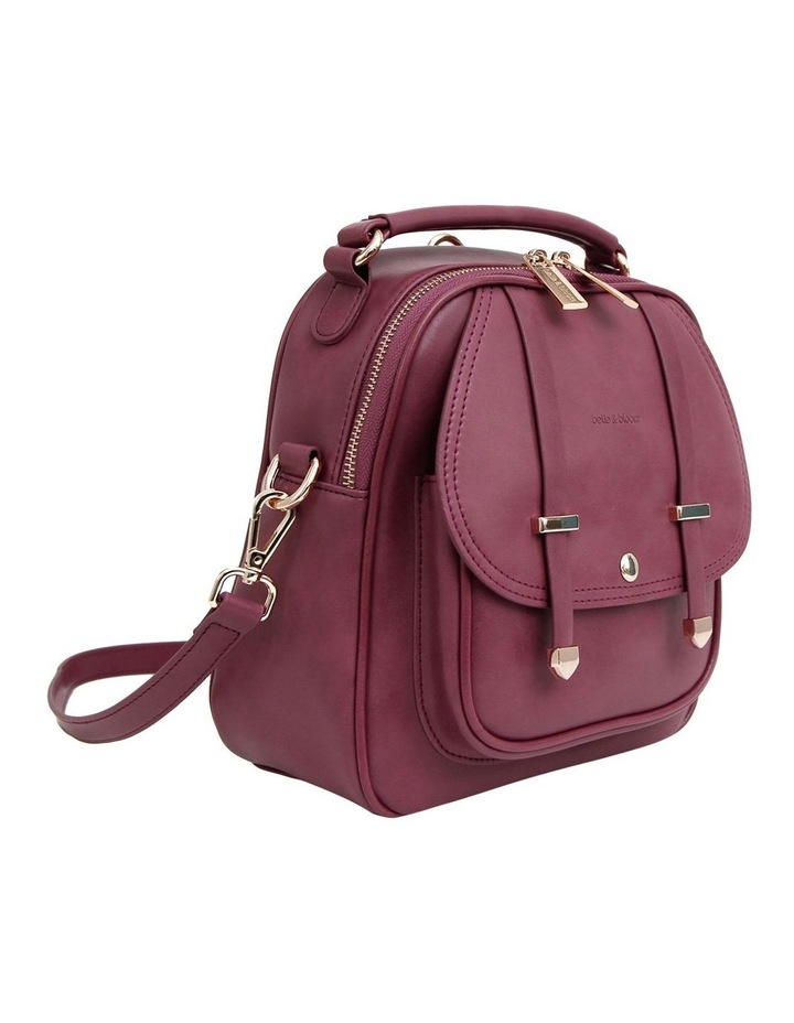 Purple Camila Flap Over Back Pack CAM500PUR image 4