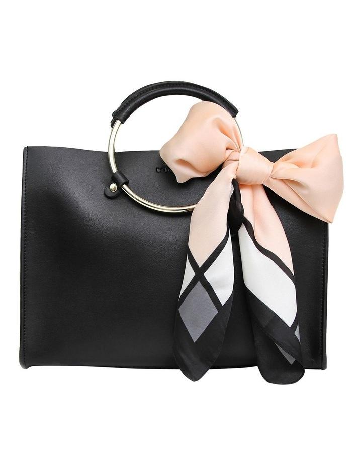 Black Palm Beach Zip Top Crossbody Bag PBCH100BLK image 1