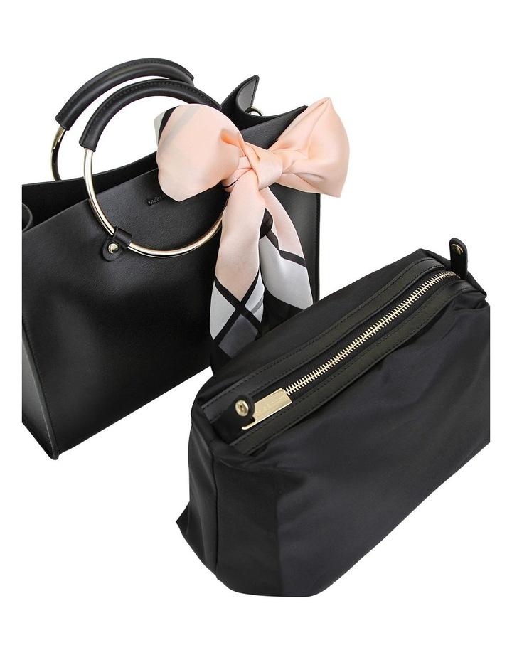 Black Palm Beach Zip Top Crossbody Bag PBCH100BLK image 2