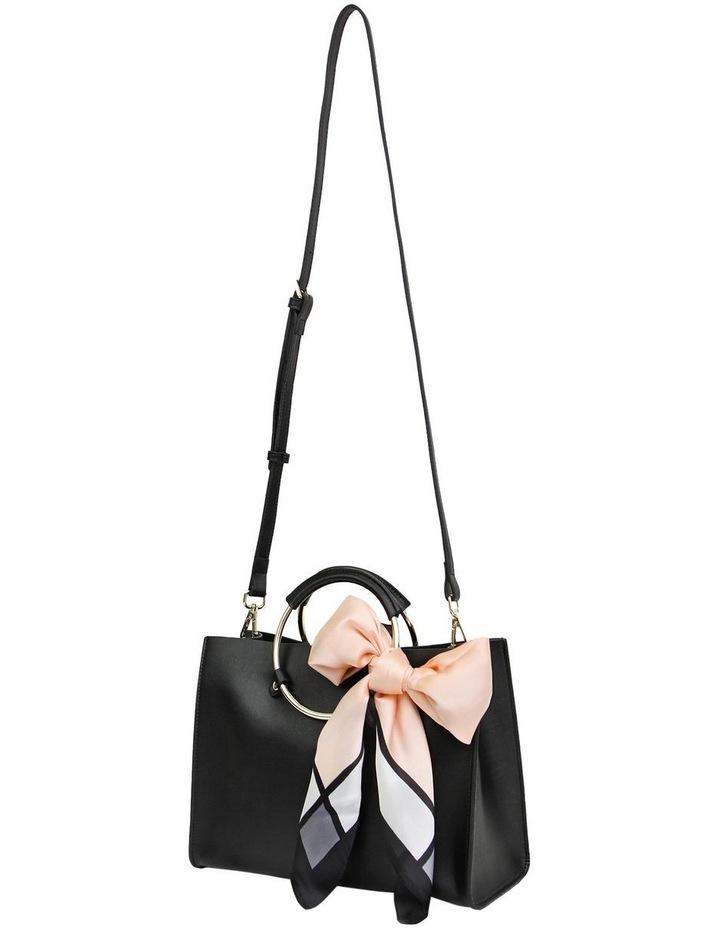 Black Palm Beach Zip Top Crossbody Bag PBCH100BLK image 4